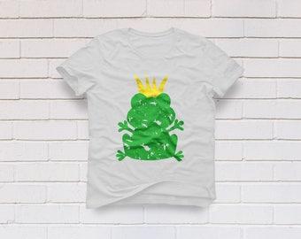 Frog svg, Frog silhouette svg, Frog clipart, Frog prince svg, Prince Charming svg, Girl svg, Cricut, Cameo, Clipart, Svg, DXF, Png, Pdf, Eps