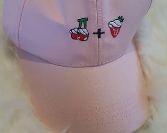 Cherries & Strawberries Cap