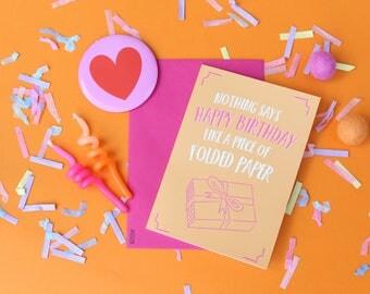 Funny birthday card, Birthday greeting card, Happy birthday card, Funny card, Birthday funny card, Cute birthday card, Funny card for friend