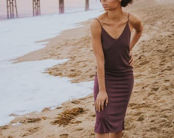 Mauve Sleeveless Dress