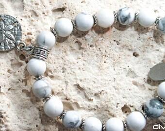 Howlite bracelet