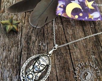 Buddha & Sunflower Necklace