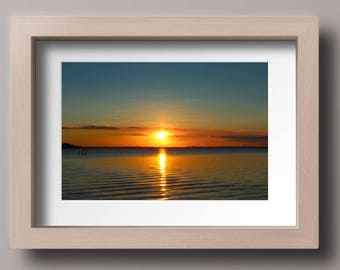 Sunset, photo