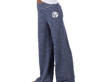 Lounge Pants - Sweat Pants - Pajama Pants - Long Relaxed Pants