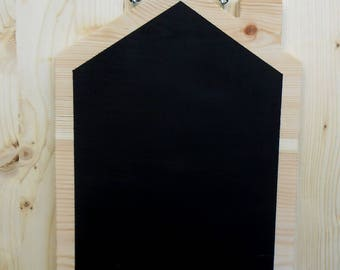 House shaped memo Board to hang on the wall-wood