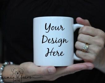 Custom Coffee Mug - Personalized Coffee Mug - Custom Logo Mug - Personalized Mug - Gift for him - Gift for Her - Custom Mug - Sublimation