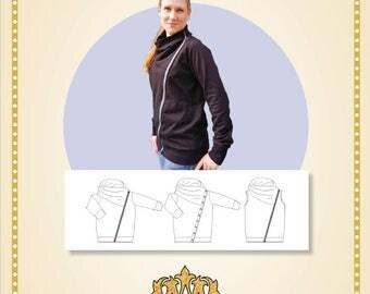 Biker jacket women 34-54