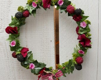 Berry wreath 24Ø