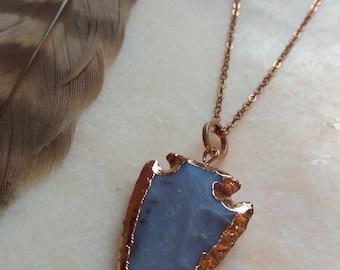 Arrow point necklace