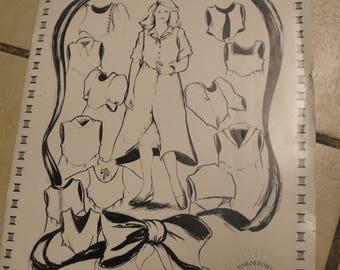 Vintage Jumper pattern, Tomorrow's Heirlooms Design-A-Jumper Alternatives