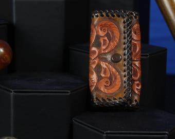 Leather Key Holder (Vintage)