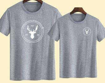 Deer Couple T shirts, Unisex T shirts, Gift for her t shirts, Gift for Him T shirts, T-shirts for women,Mens T shirt, Women T-shirts
