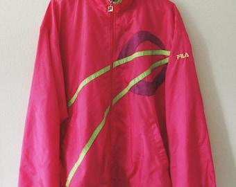 Rare Vintage Fila Track Suit Jacket