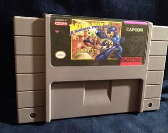 Mega Man 7 Refit SNES Game