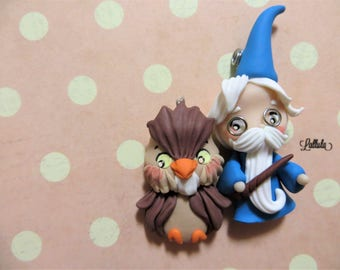 Merlin and the Fimo/pendant Disney