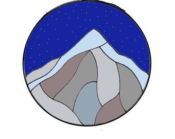 Custom Mountain Stickers