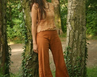 Natural Linen Cotton Pants 'Fatima' Summerpants Light