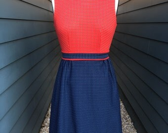 1960s Nancy Greer Garfinkel's Mock neck Dress // 1960s Dress // mock neck dress // Vintage dress