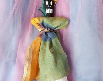 Spirit Doll Voodoo Doll Poppet Good Luck Charm Feminine Power New Orleans Inspired Good Luck One of a Kind
