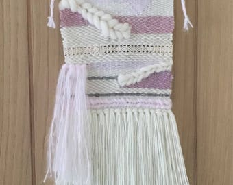 Large Woven wall hanging, weaved wallhanging, Yarn wall hanging, Weaving wall hanging, New home gift, Baby shower gift, Housewarming gift