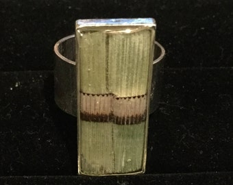 Snake Grass Ring Size 8
