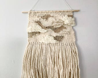 Woven Wall Hanging in Neutral Shades