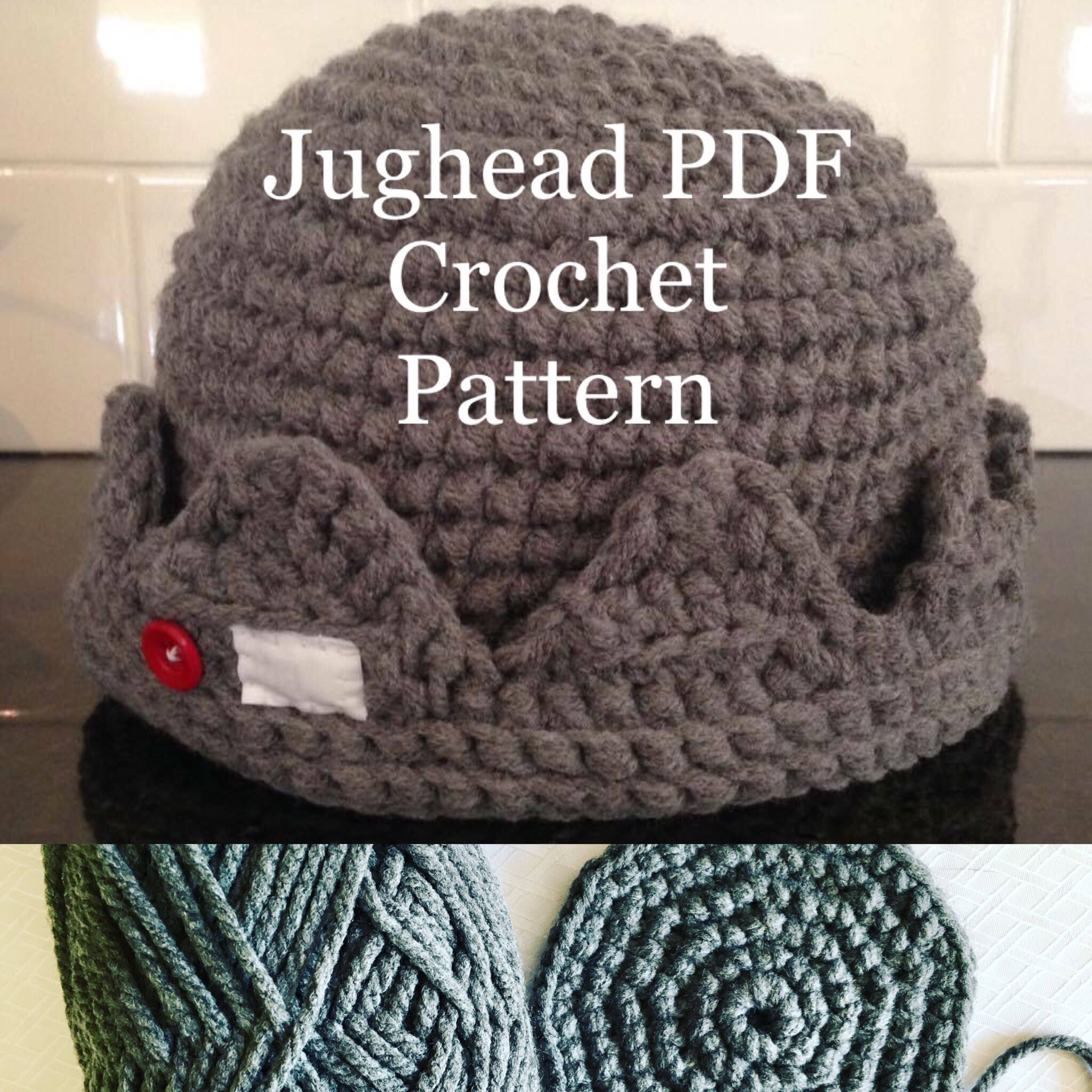 Quick and easy jughead beanie crochet pdf pattern beginner zoom bankloansurffo Image collections