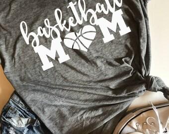 Basketball Mom SVG, PDF, PNG, Dxf Design
