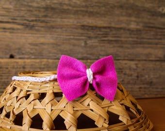 Baby Bow, Baby Headband, Baby Hair Accessory, Handmade Baby Bow, Handmade Headband