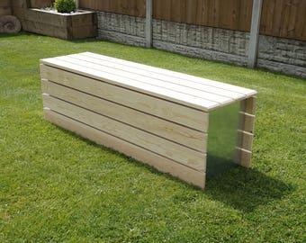 Modular Pine Clad Garden Bench