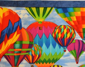 Up and Away Hot Air Balloon Pillowcases
