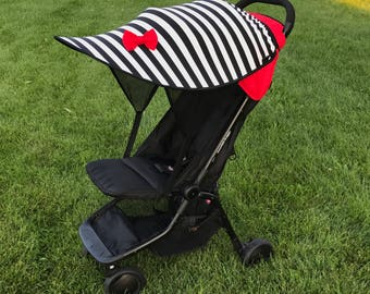 Stroller canopy Canopy extender Stroller Shade Stroller cover Custom canopy with UPF & Custom stroller canopies by Shadetopia on Etsy