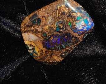Beautiful Koroit Boulder Opal Cabochon