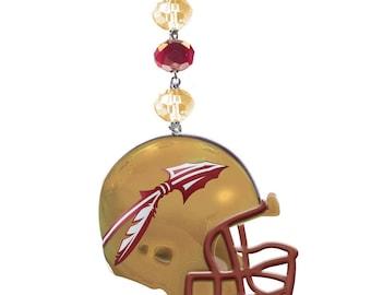 FLORIDA STATE University *Helmet* MAGNETIC Ornament,Fsu Home Decor,Seminoles Gifts,Noles,Fsu Ornament,Fsu gift,Florida state