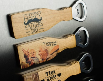 Personalised Bottle Opener Magnetic (Don't Pay RRP!)