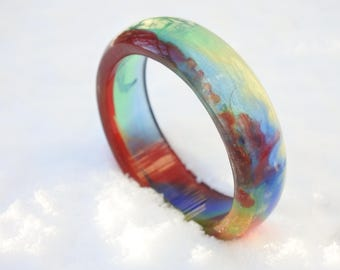 Color game bracelet-resin diy-Fantastic colors