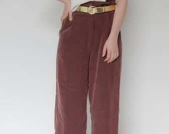 Vintage high waisted wide leg pants
