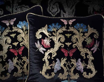 Pair of Pillows - Handmade Venetian Home Decor