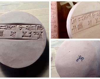 Love and Caring is the Essence of Life: Ancient Sumerian Proverb on a Clay Tablet