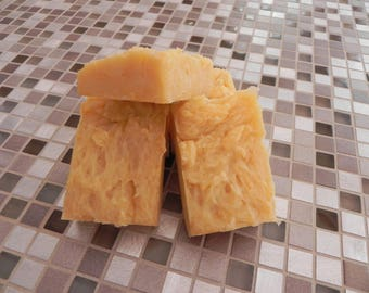 Chamomile and Blood Orange Soap (Vegan Hot Processed)