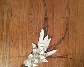 pinwheel flower spray