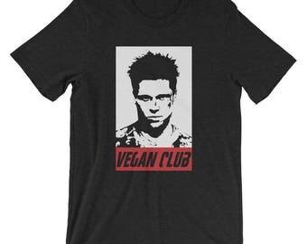 Funny Vegan T Shirt, Vegan Club, Gift For Vegans, Funny Vegan Saying