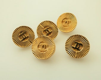 Chanel CC Vintage Buttons 12mm