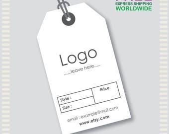 1000 Pcs Custom Hang Tags, Custom Clothing Labels, Custom Clothing Hang Tag, Cheap Hang Tags, Price Tag, Bar code Tag, Brand Tag