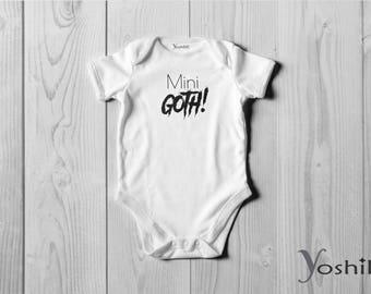 Goth Onesie / Bodysuit