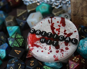 Dungeons and Dragons Critical Hit Jumbo Pin