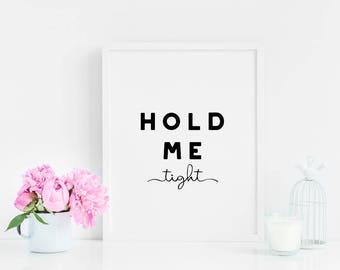 Modern Printable - Modern Quote Art - Modern Wall Art - Minimalist Quote Art - Modern Bedroom Decor - Wedding Decor - Wedding Printable
