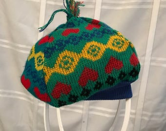 Knit Hat Custom Made Back to School