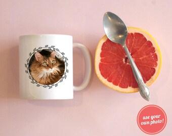 Use Your Own Photo Coffee Mug, Personalized Coffee Mug, Custom Coffee Mug, Baby Photo Coffee Mug, BFF Coffee Mug