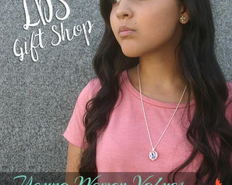 Young Women Interchangeable Necklace & Bookmark